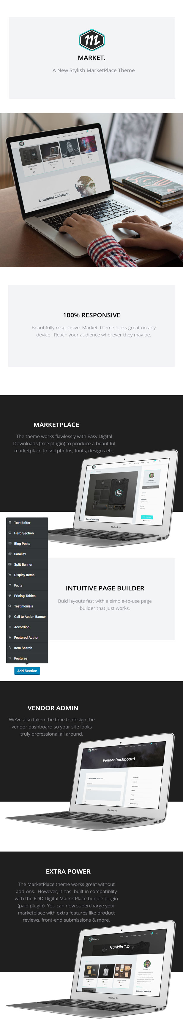 Market - Marketplace WordPress Theme - 1