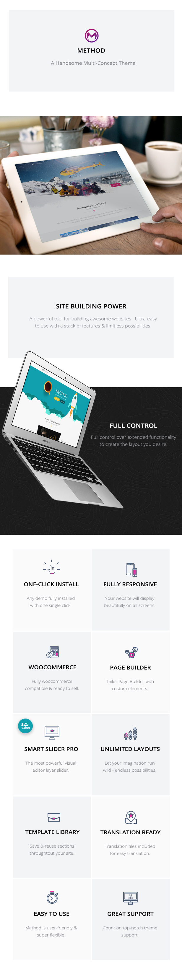 Method – Multi-concept site builder (Creative)